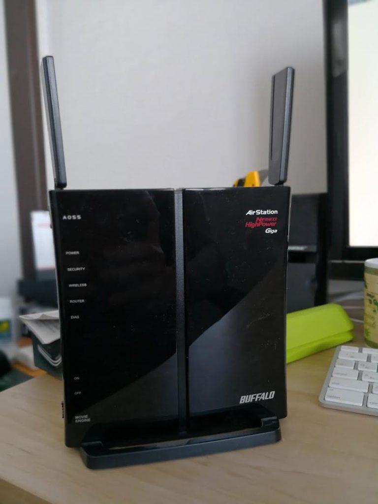 古くなったWi-Fi無線LANルーター