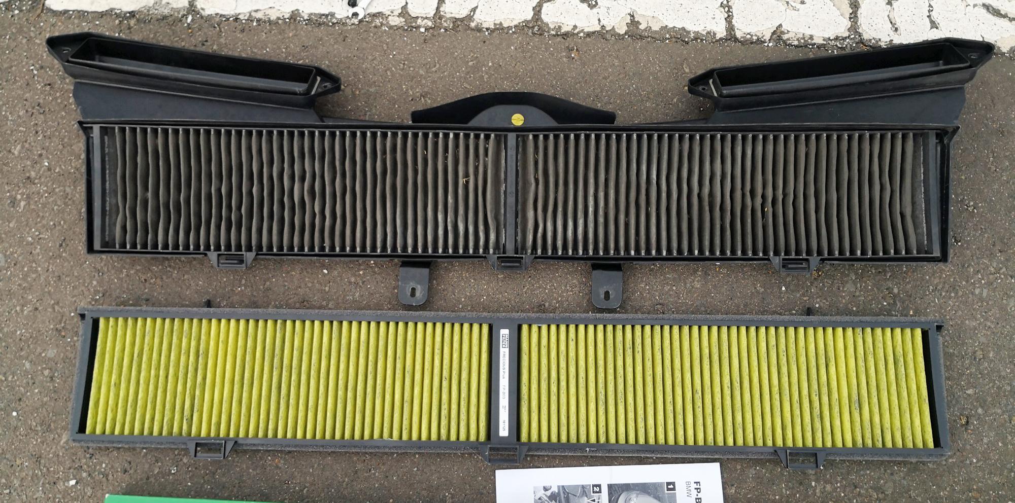 BMWエアコンフィルター