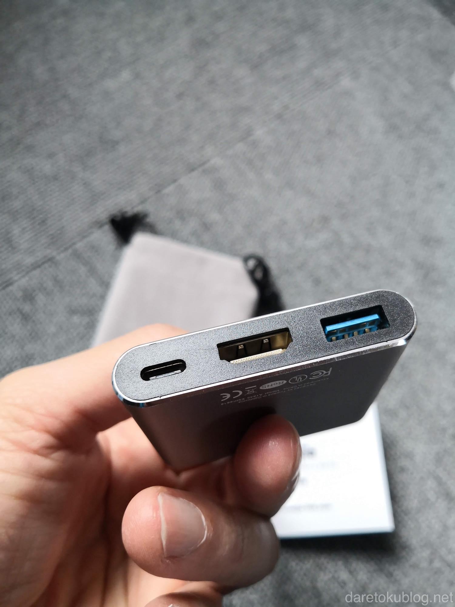 USB TYPE-C HDMIアダプタ